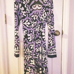 Lightweight cross front dress